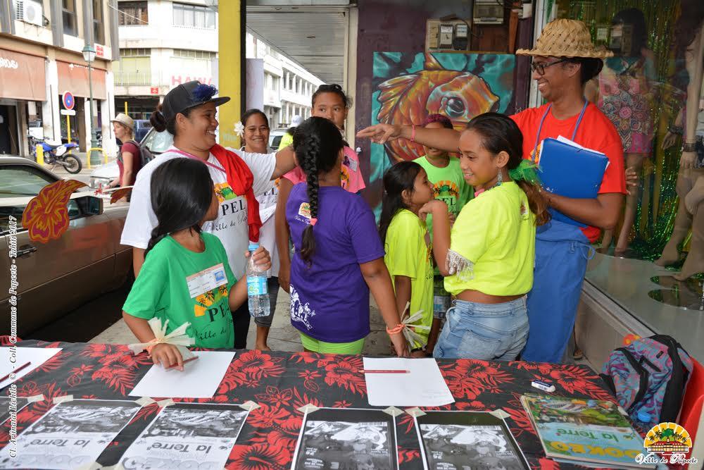 Papeete : un rallye lecture sur le couronnement de Vaiana