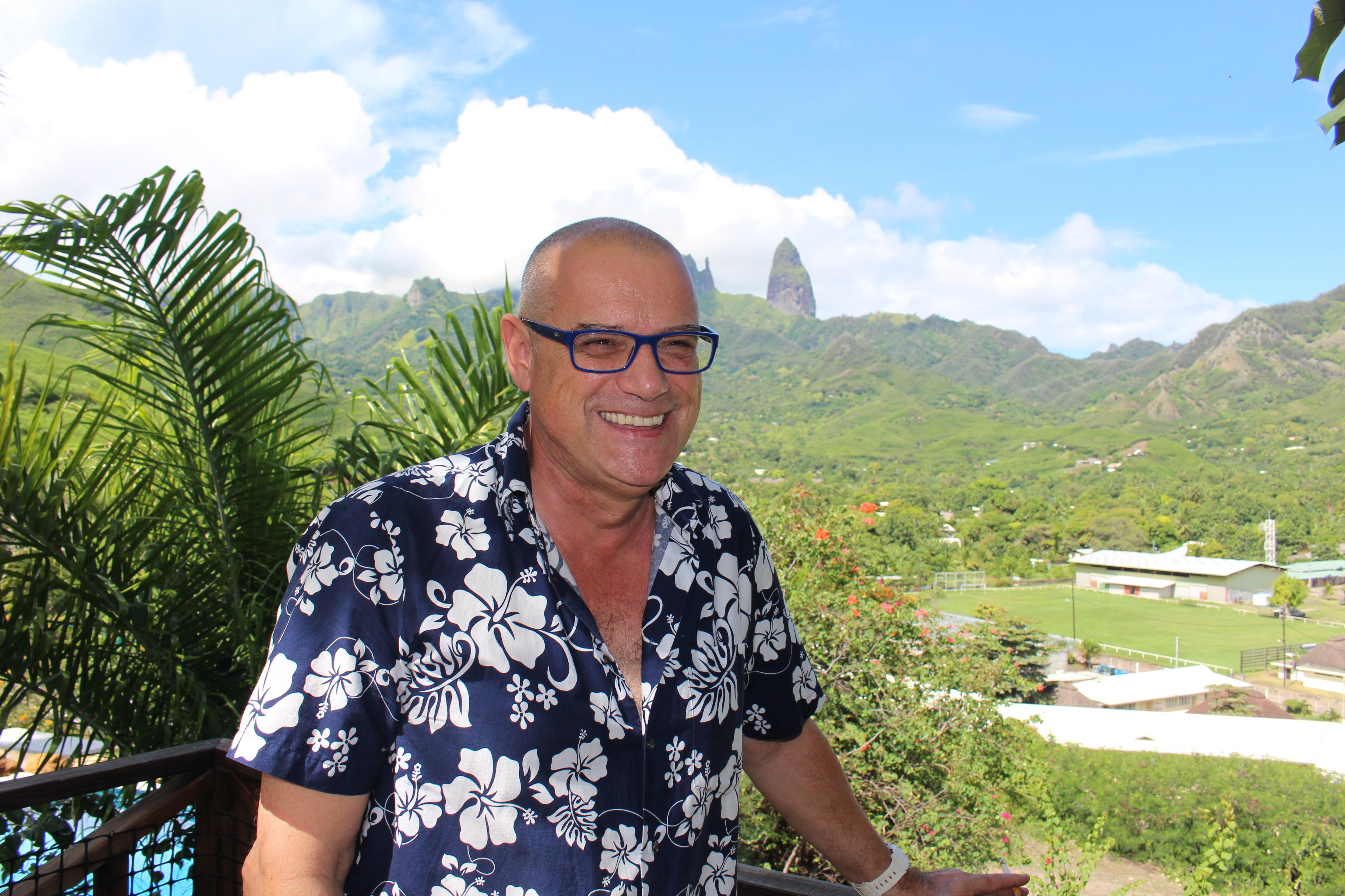 Ua pou ambassadeur polynésien d'un projet sur la francophonie