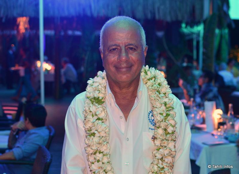 Mehdi Mechhoure, le président du Rotary Club