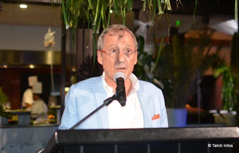 Didier Lamoot, directeur régional du groupe Accor et directeur général du Sofitel Moorea