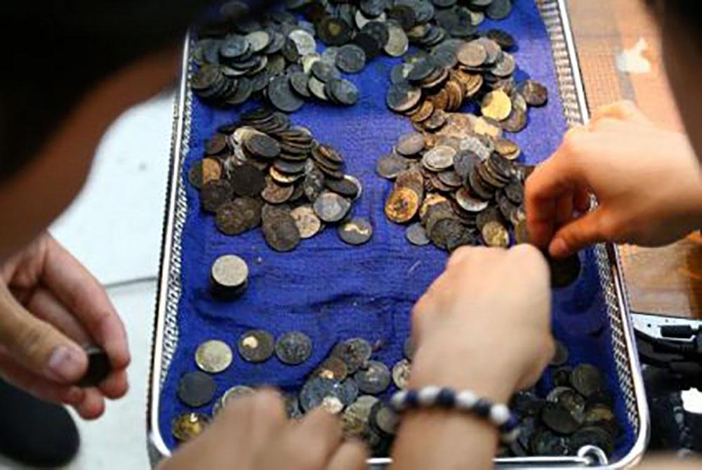Thaïlande: la tortue avait avalé 915 pièces de monnaie