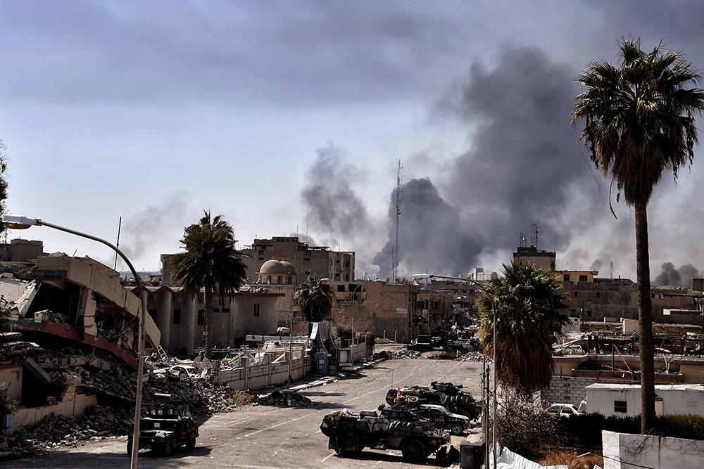 Le musée de Mossoul, pillé et vandalisé par les jihadistes