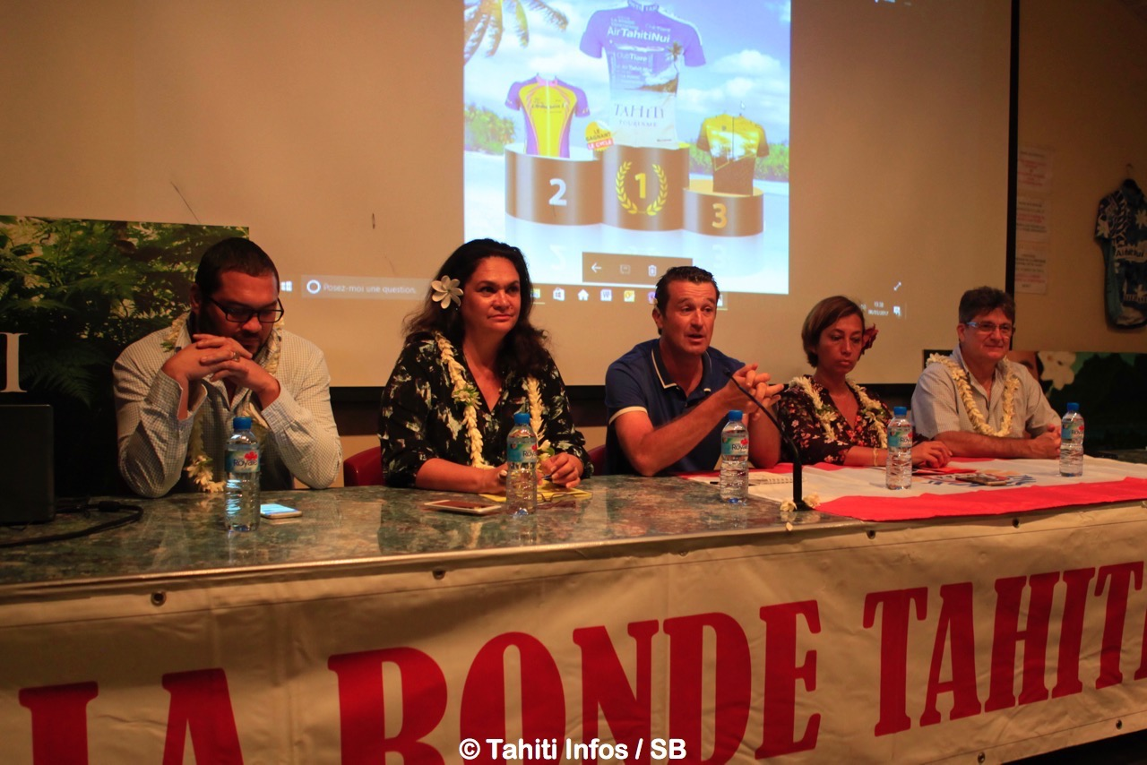 La Ronde Tahitienne veut allier sport et tourisme