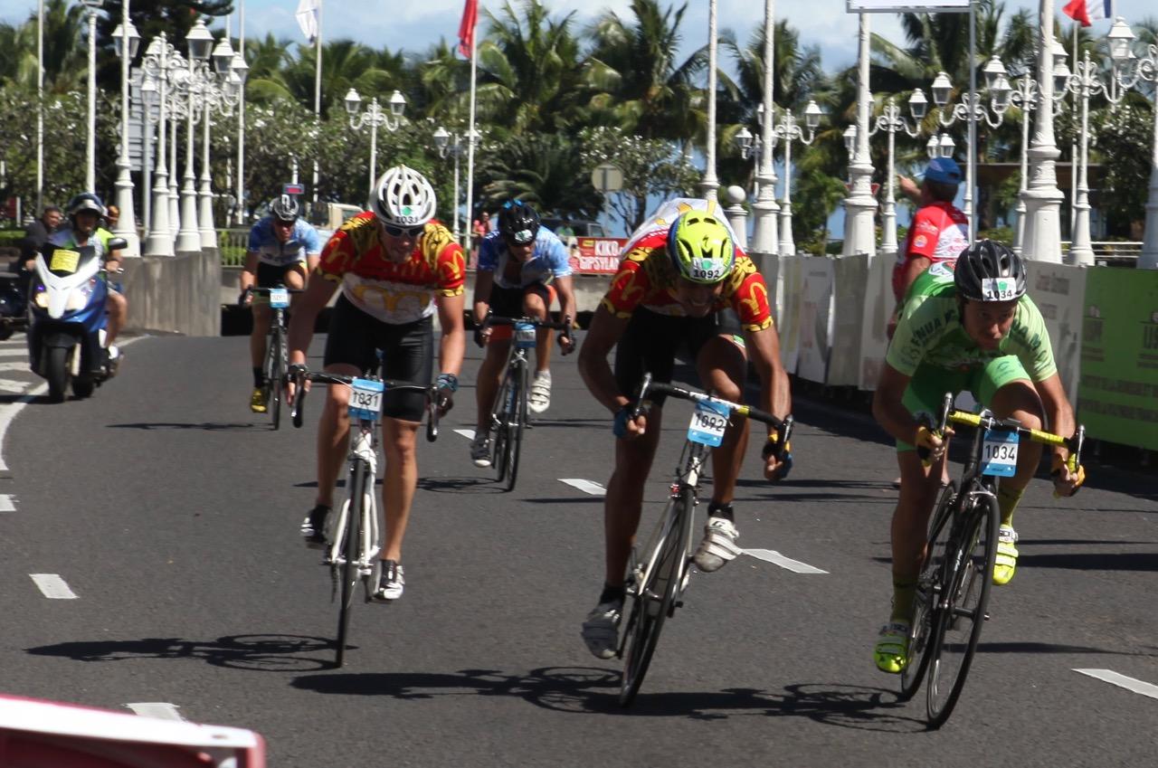L'arrivée de Ronde Tahitienne 2016