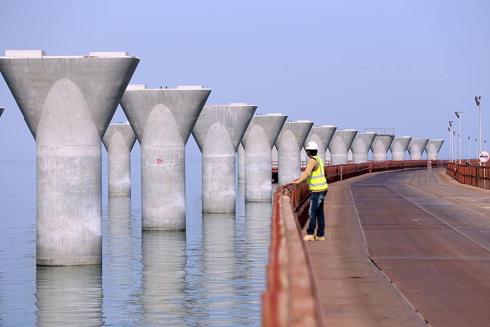 Le Koweït s'offre un pont de 36 km pour relancer la route de la soie