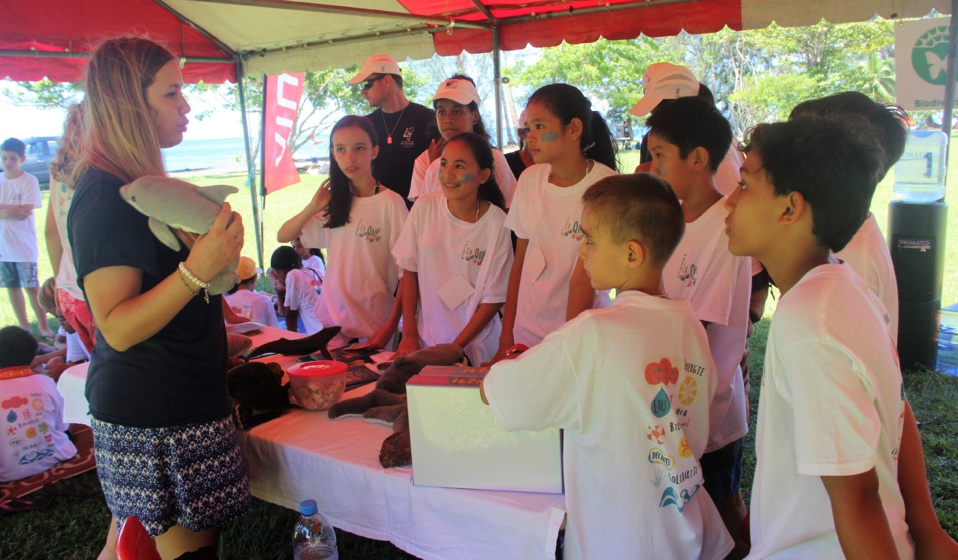 Des ateliers ludiques étaient organisés pour les enfants.