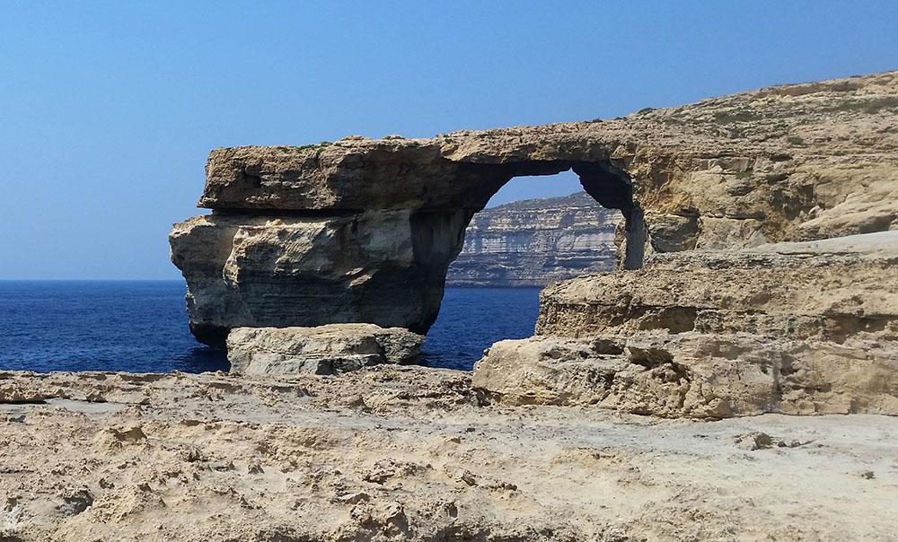 """Malte pleure son """"Azure Window"""", site touristique effondré"""