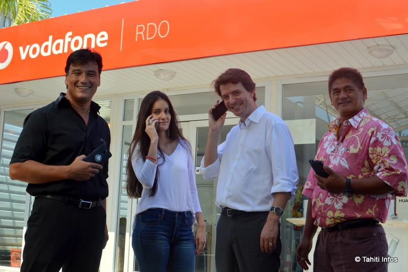 Vodafone installe un réseau 4G à Tahiti