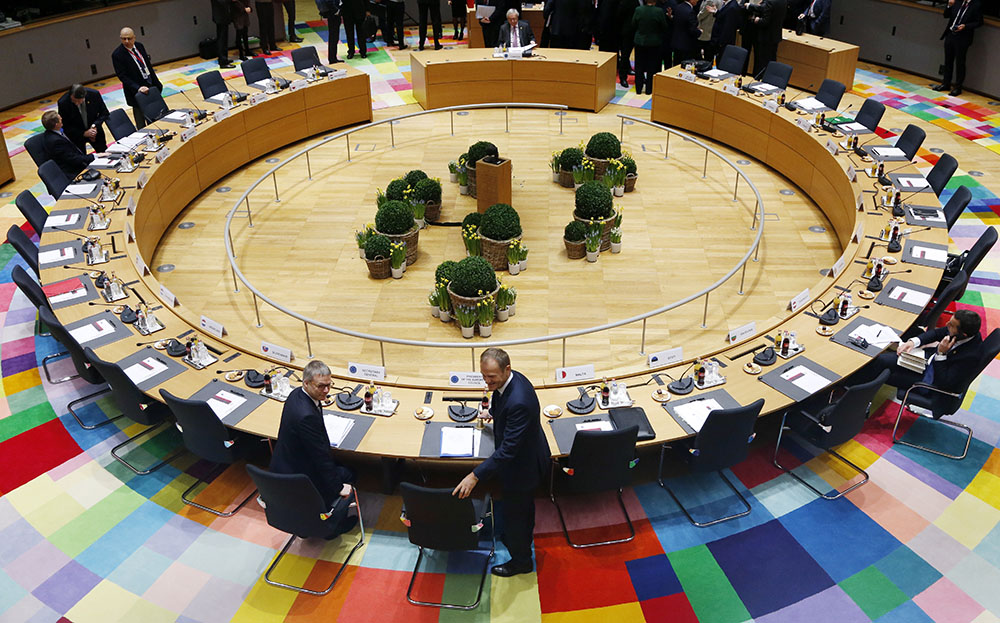 UE: les 27 débattent d'unité post-Brexit après le clash polonais