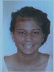Appel à témoin pour retrouver Heitea, 13 ans