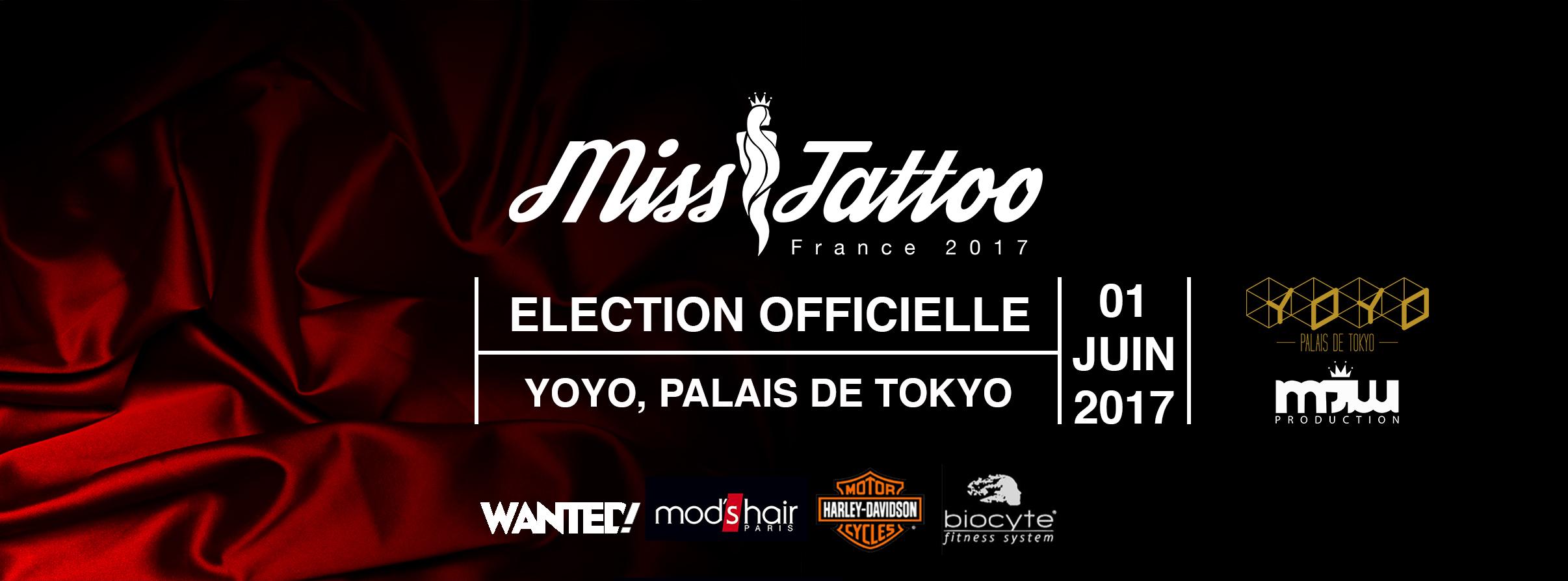 Miss tattoo France 2017 : fin des inscriptions le 15 mars
