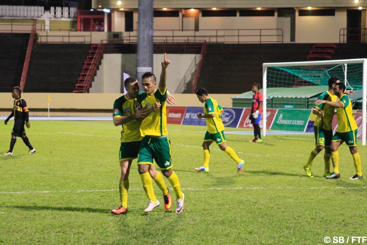 Stanley Atani a marqué le 4e but pour Tefana en fin de rencontre