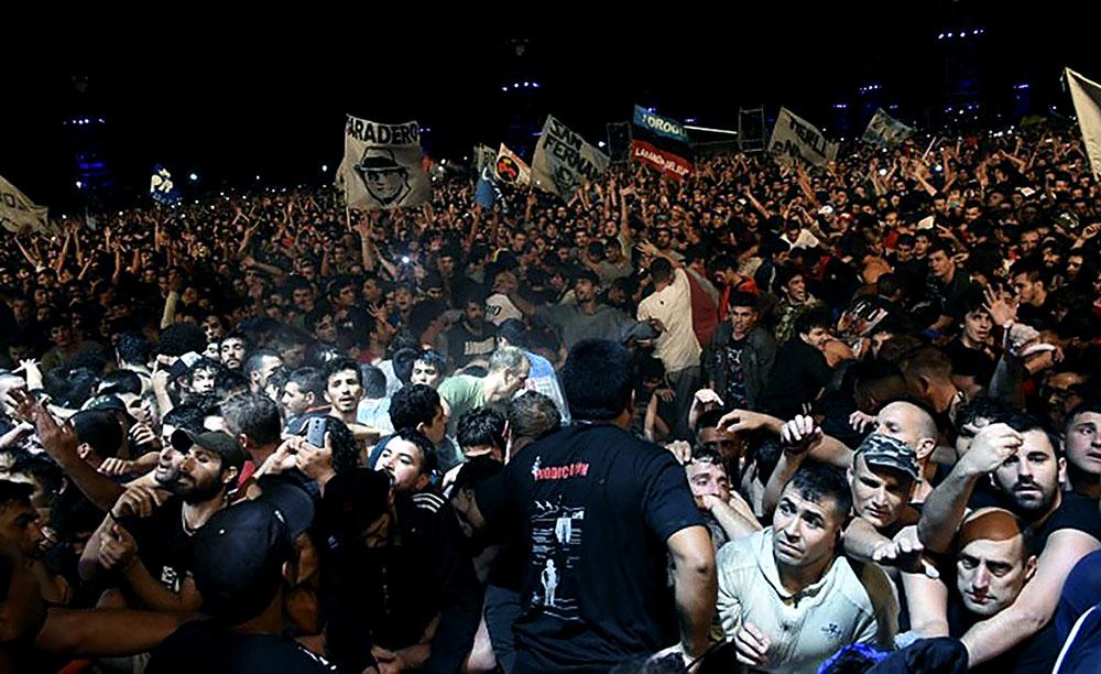 Argentine: bousculade monstre à un concert de rock, deux morts
