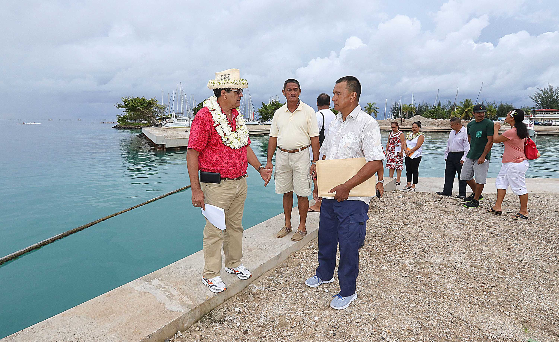 Les travaux du nouveau quai des pêcheurs situé à Uturoa devraient être finalisés avant la fin de l'année.