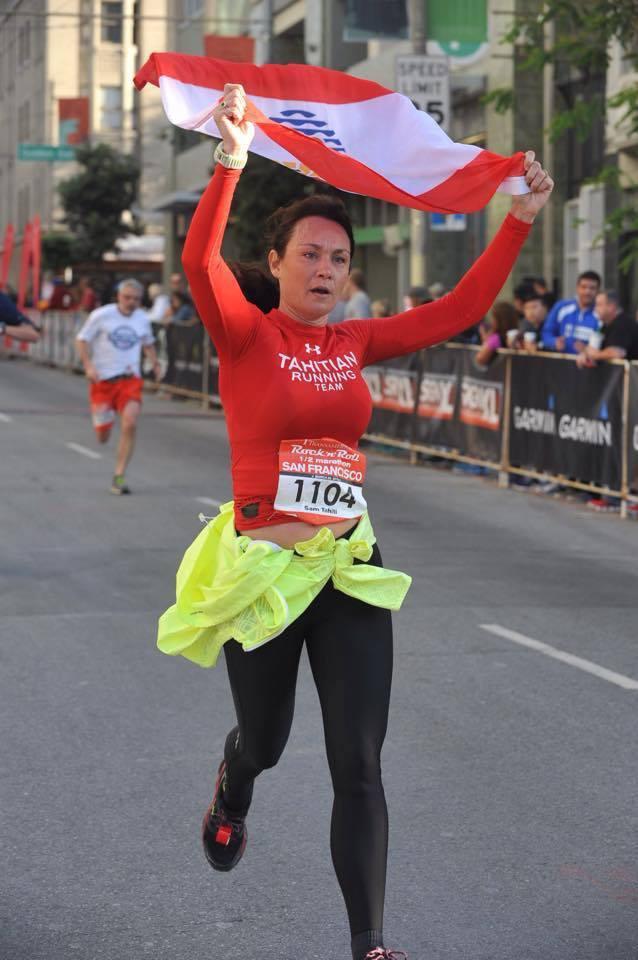 Portrait : Zoom sur Samantha Fink et sa passion pour la course à pied