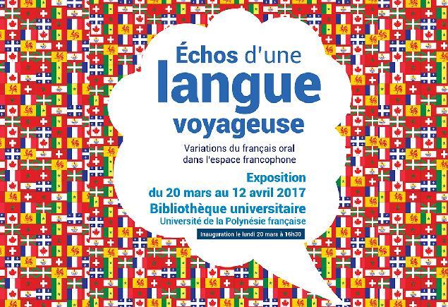 """""""Echos d'une langue voyageuse"""" à l'UPF"""