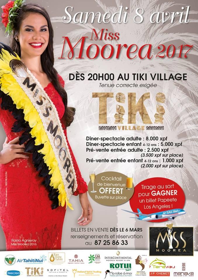 Miss Moorea : les confidences des six candidates