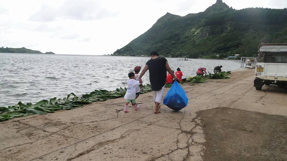 Jusqu'à samedi, les habitants de Rapa effectueront des activités liées à la mer.