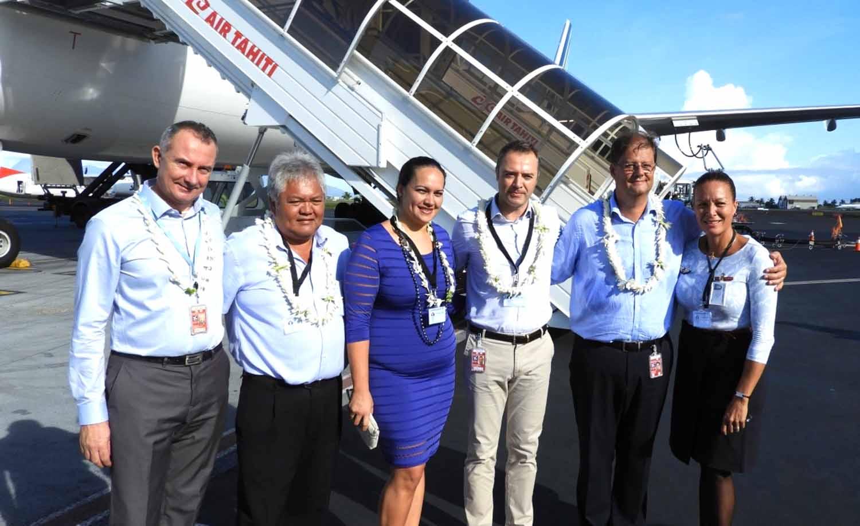 Présentation des nouvelles cabines de la classe business des appareils Air France