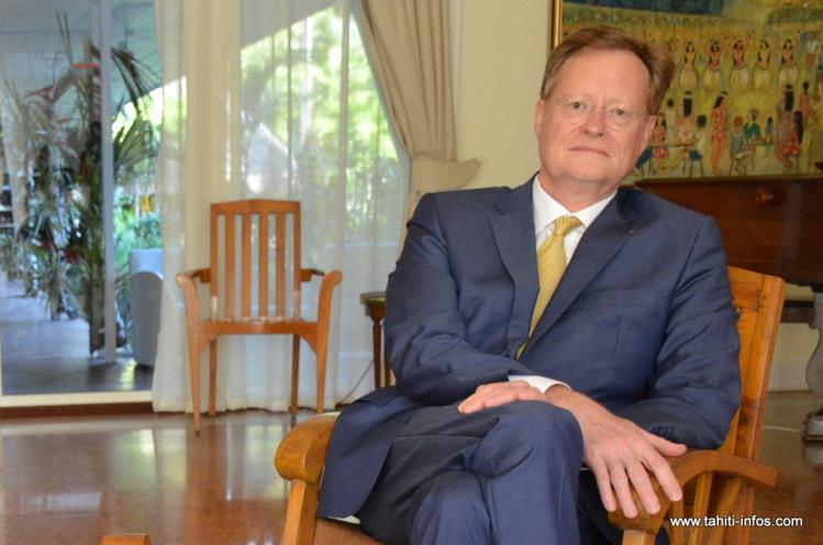 Le haut-commissaire rend hommage à Alex du Prel