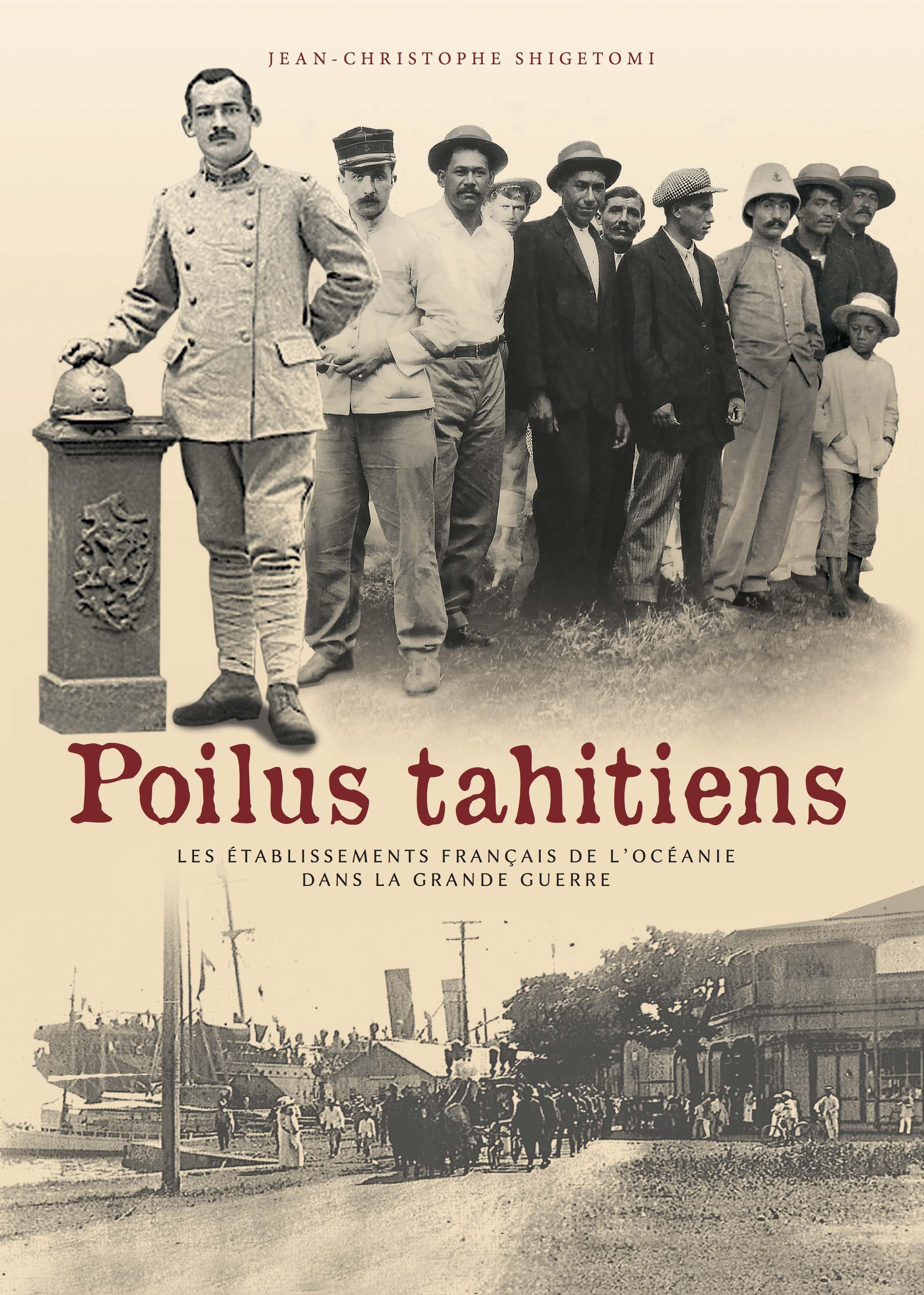 Shigetomi publie un livre hommage aux Poilus tahitiens