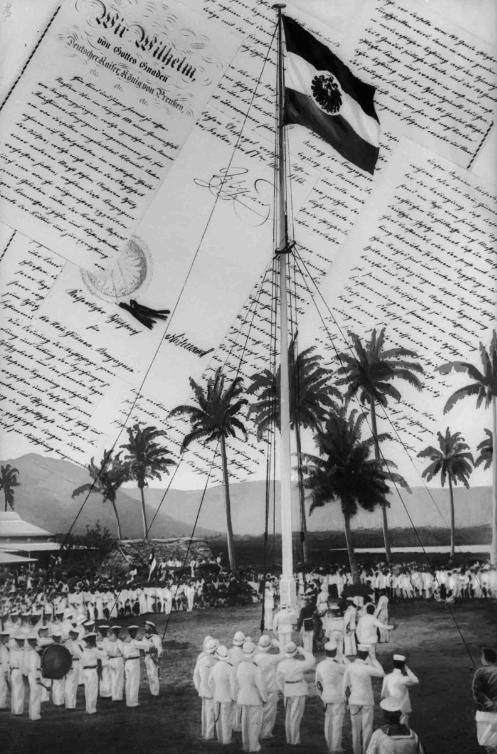 Le 1er mars 1900, l'Allemagne levait ses couleurs sur une partie de l'archipel des Samoa.