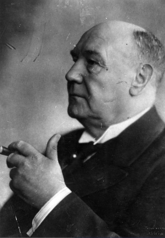 Un portrait de Wilhelm Solf une fois rentré en Allemagne.