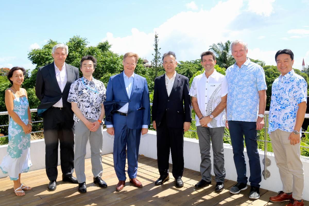 Des représentants du groupe Tokuyama reçus par le haut-commissaire