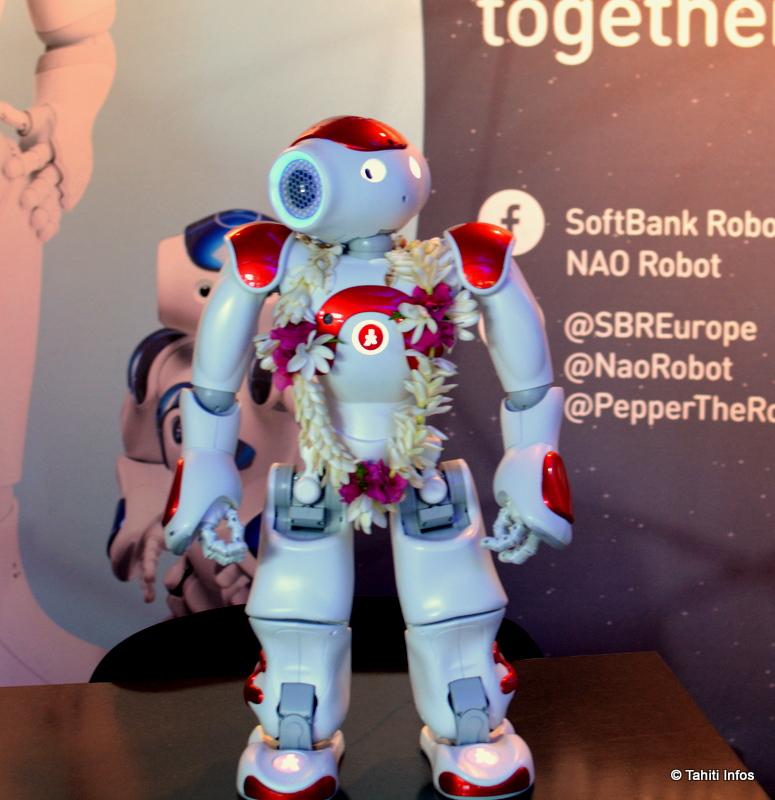 Le petit robot Nao a fait craquer le public
