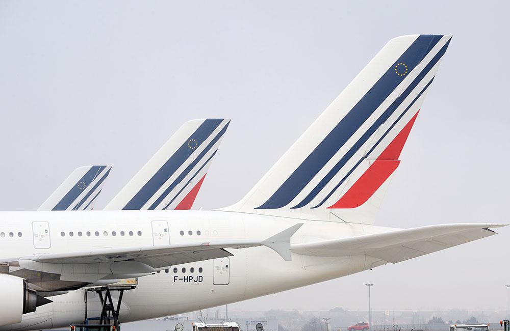 Air France: le personnel de cabine en grève trois jours, peu de perturbations samedi