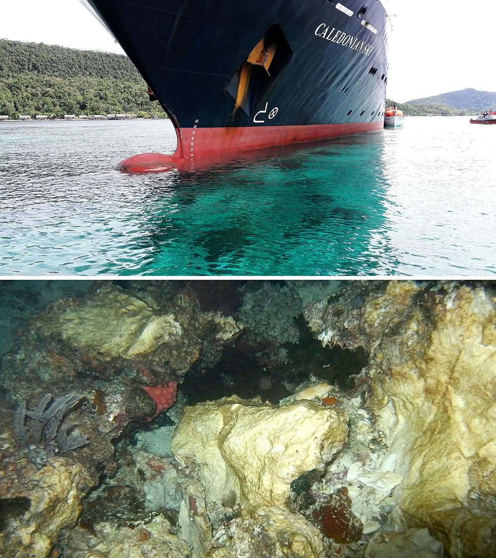 Récifs endommagés: l'Indonésie convoque l'ambassadeur britannique