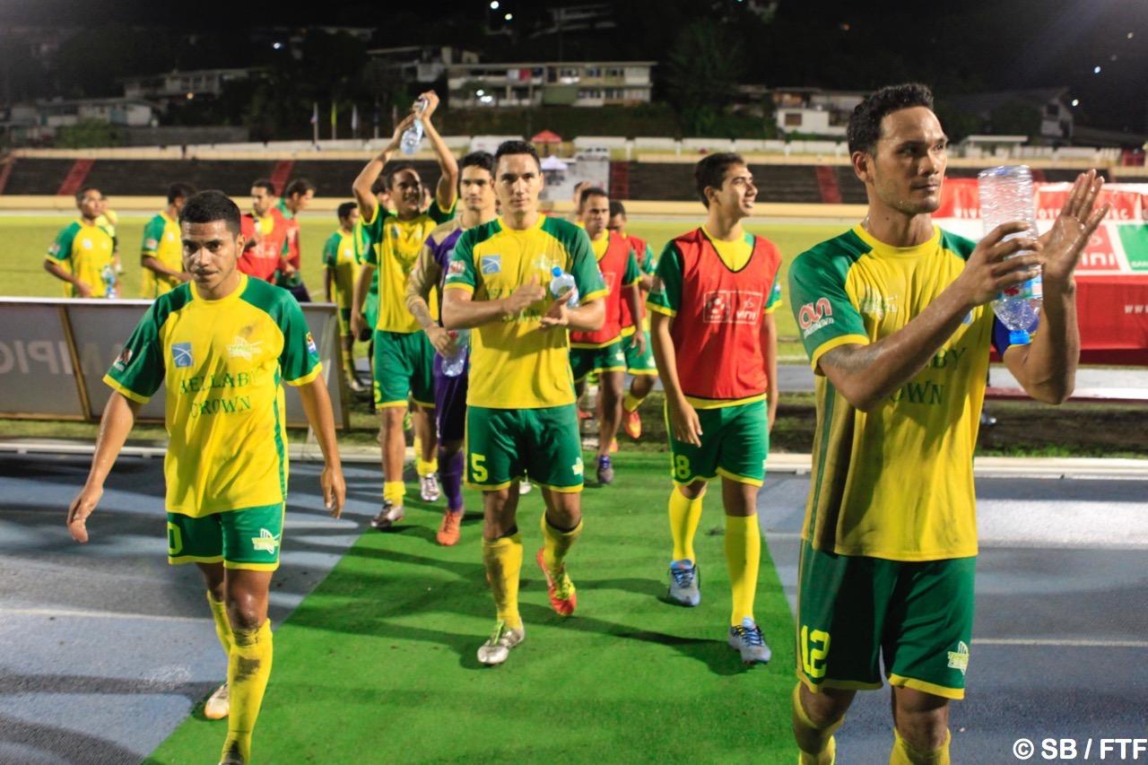Mission accomplie pour les joueurs de Sebastien Labayen et Pascal Vahirua