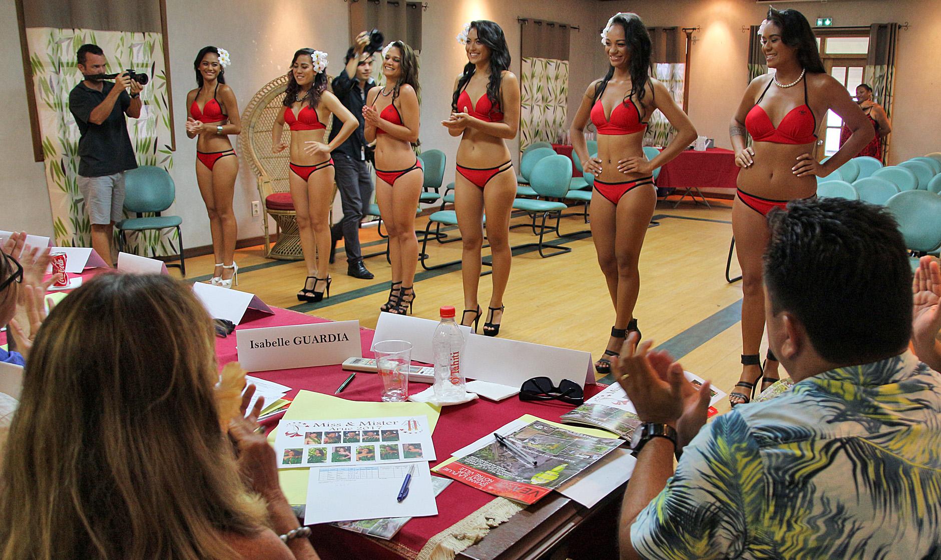 Miss Arue : les candidat(e)s ont passé l'oral
