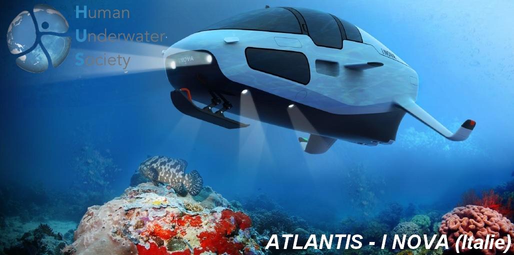 Le prix Start-up va au projet Atlantis créé par les Italiens de INova : ce sous-marin peut aussi naviguer en surface. Il tire son oxygène directement de l'eau.