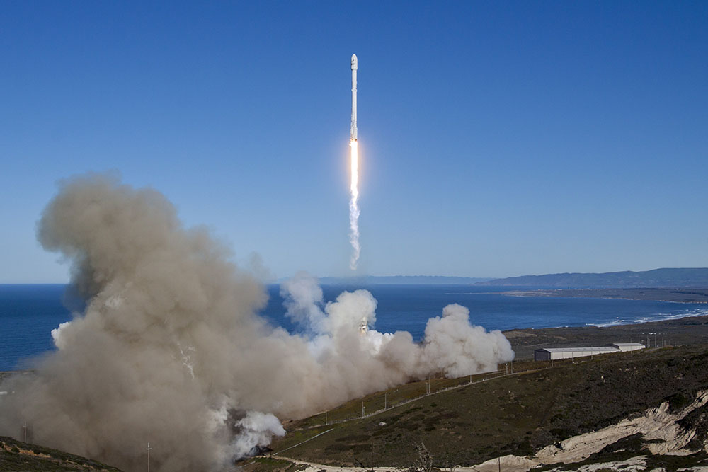 La capsule Dragon de SpaceX a amerri dans le Pacifique sans encombre