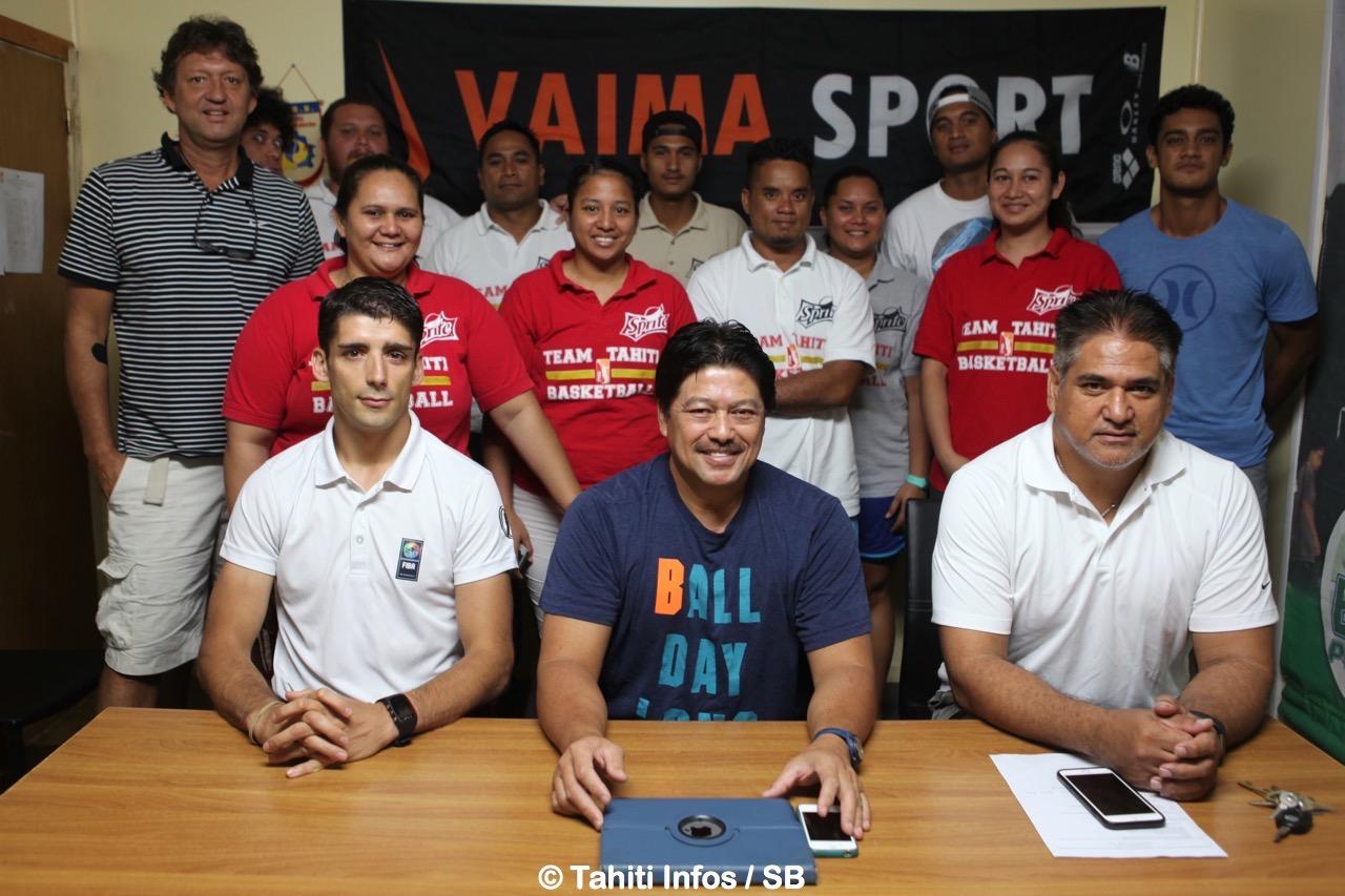 Un nouveau souffle pour le basket polynésien, basé sur la formation