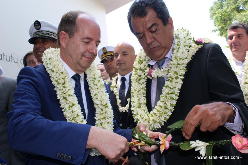 Le centre de détention Tatutu inauguré