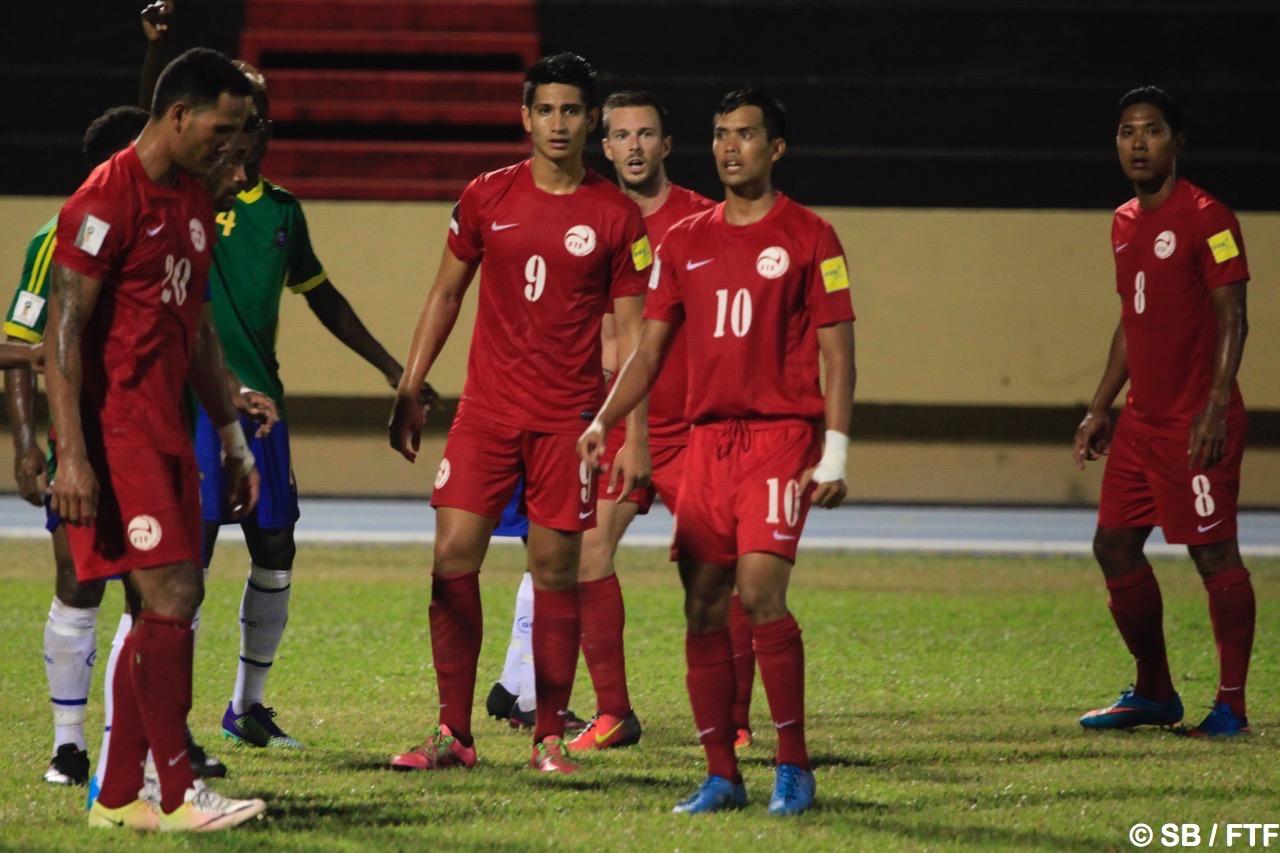 Tahiti avait gagné contre les Salomon 1-0 à domicile