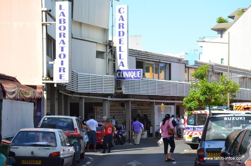 Les patients de la clinique ont été évacués ce mardi matin.