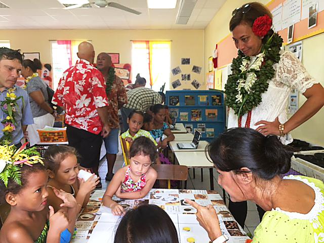 Semaine de la maternelle en Polynésie française :  « Jouer pour mieux grandir »
