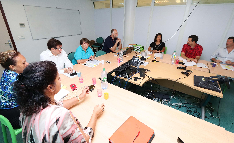 Première réunion de l'année de la commission SCAN