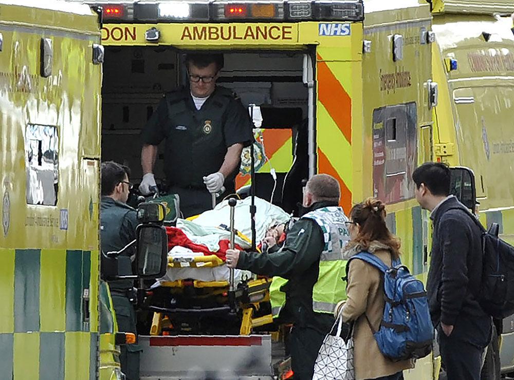 Attentat à Londres: au moins trois morts, l'assaillant abattu