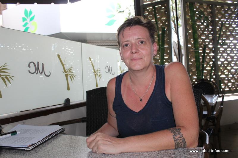 Carole Couturier, présidente de l'Arpap.