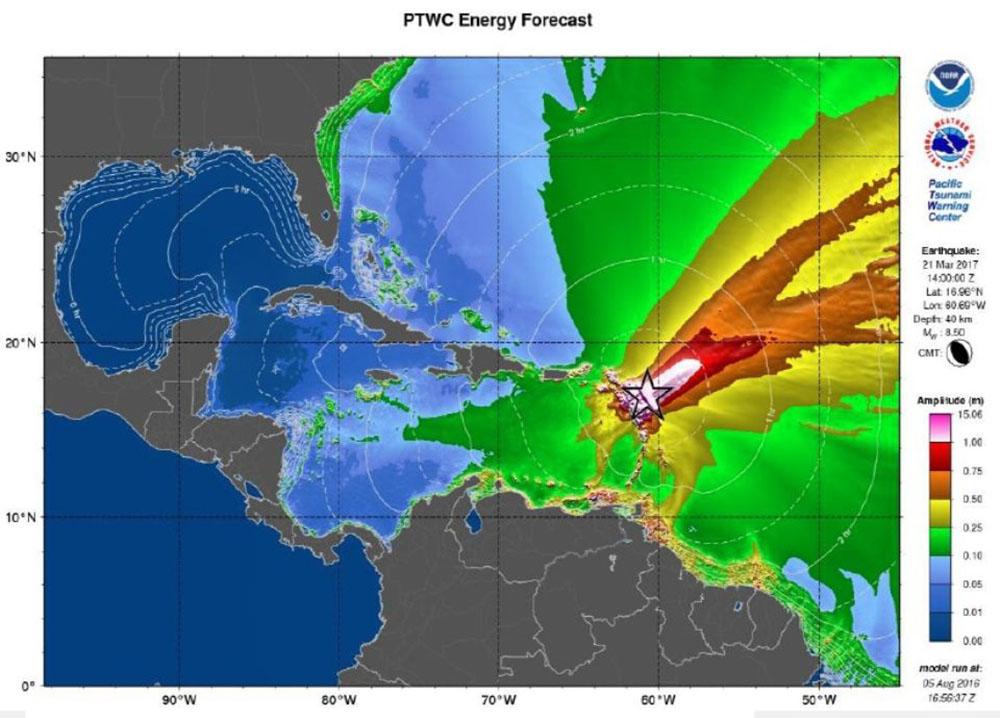 """En Guadeloupe, des """"geeks"""" sensibilisent aux risques de catastrophes naturelles"""