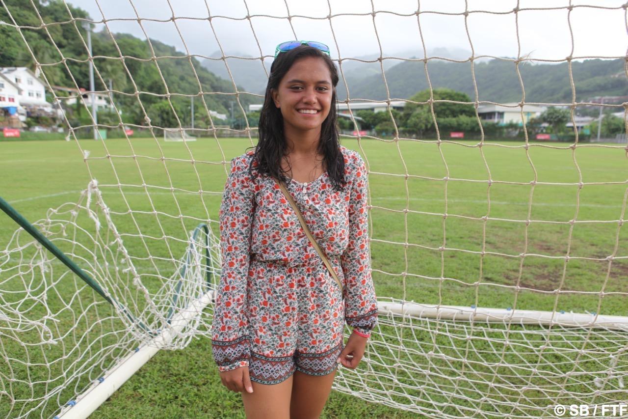 Vaihei Samin est passionnée de football