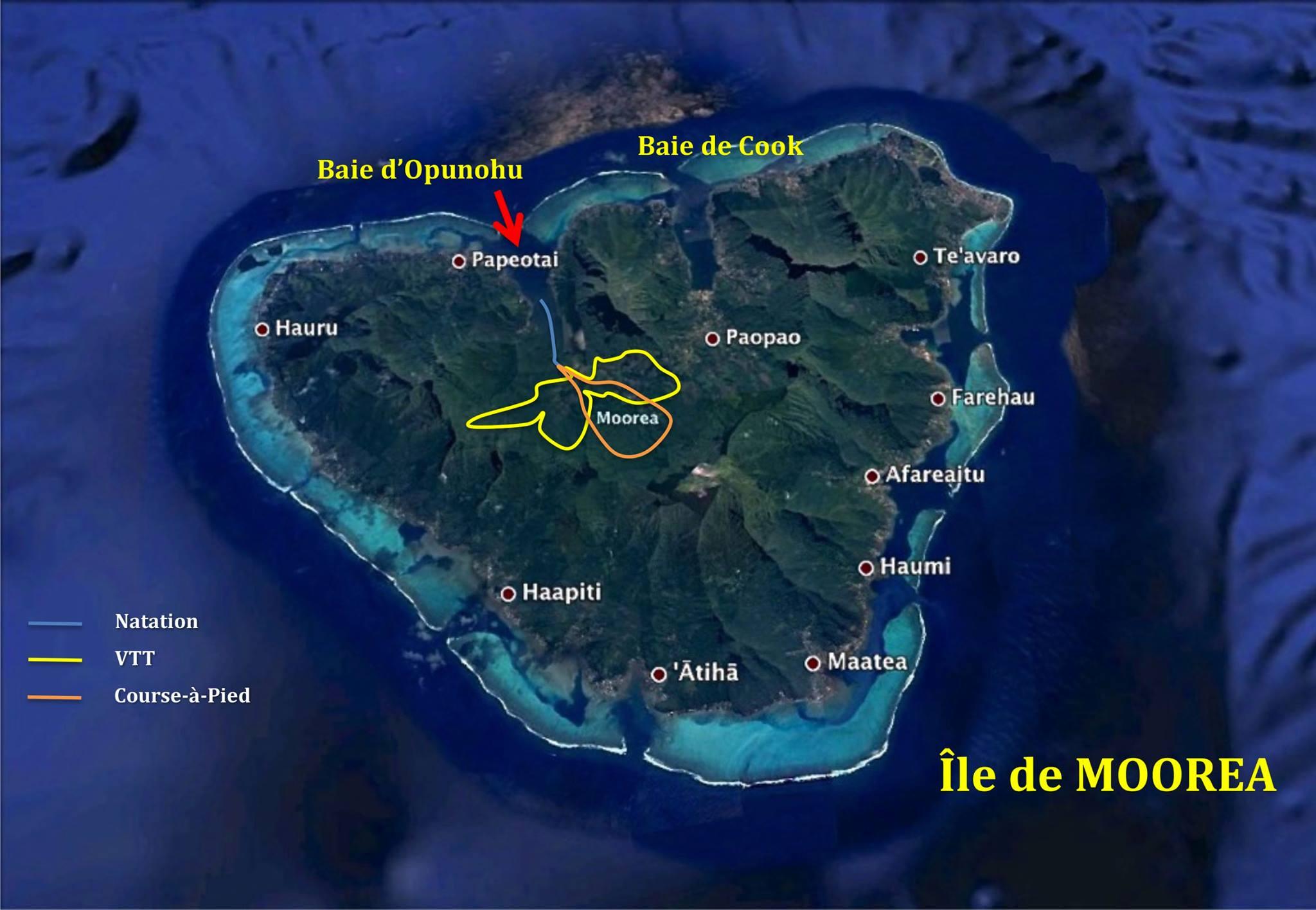 Deux jours de compétition entre Moorea et Tahiti...