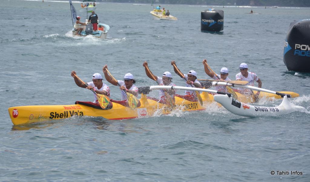 Shell Va'a remporte la Va'a News Race pour la deuxième année consécutive.