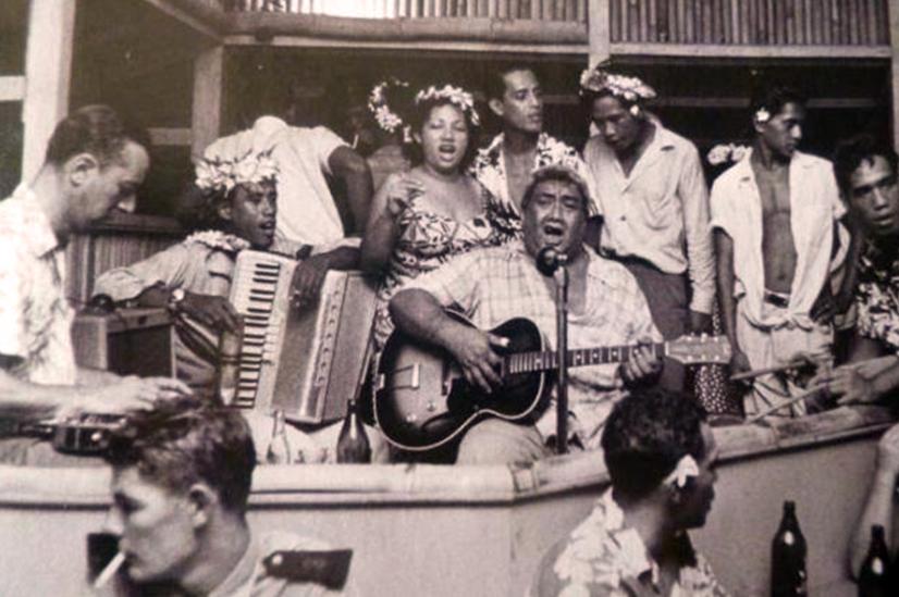 L'orchestre du Lafayette en 1958