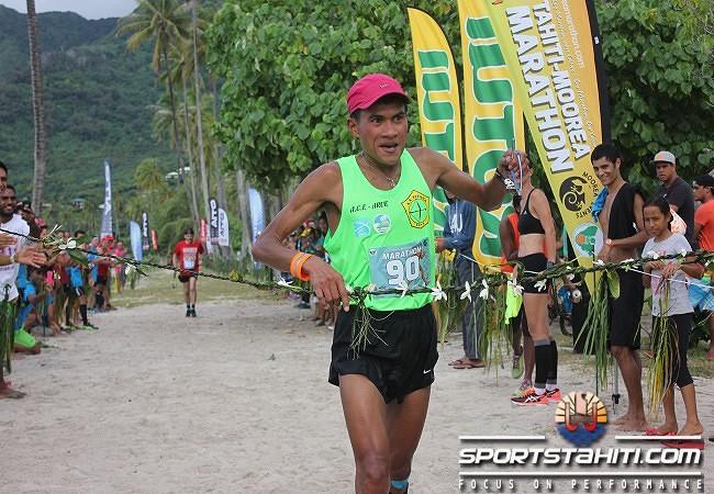 Nouvelle victoire de Tutea Degage au marathon de Moorea