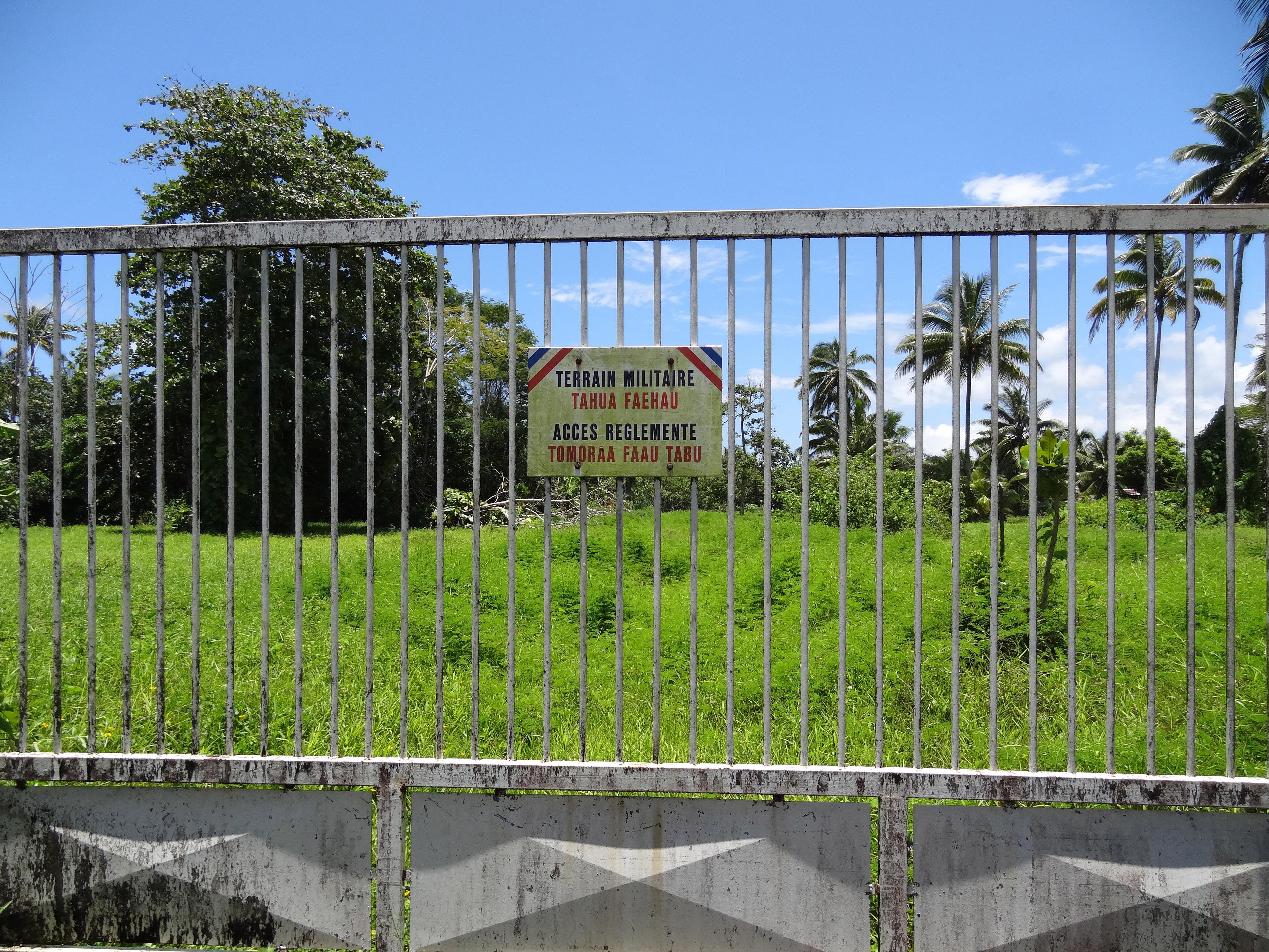Le site qui a été cédé à la commune de Taiarapu Est s'étend sur une superficie de 10 000 m².